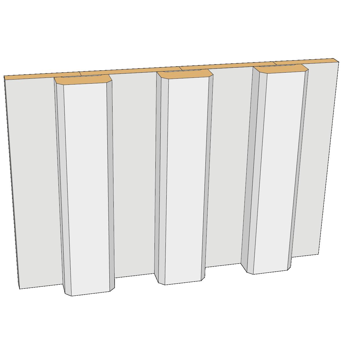 Lockläkt exempel Bygg & trä