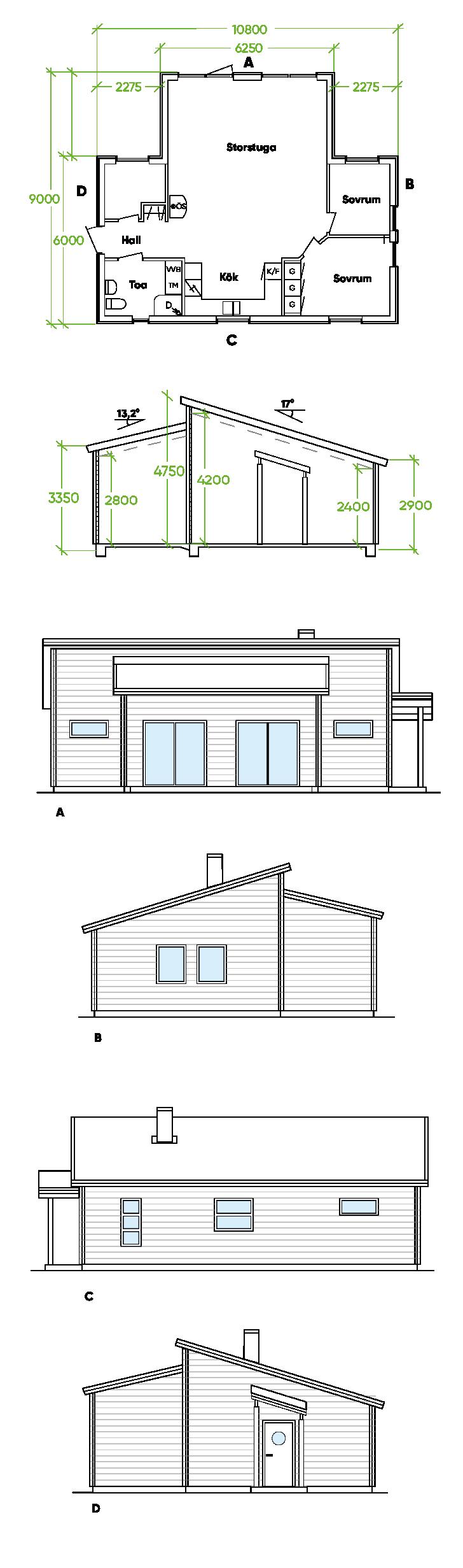 PLANRITNING-boviken Bygg och Trä