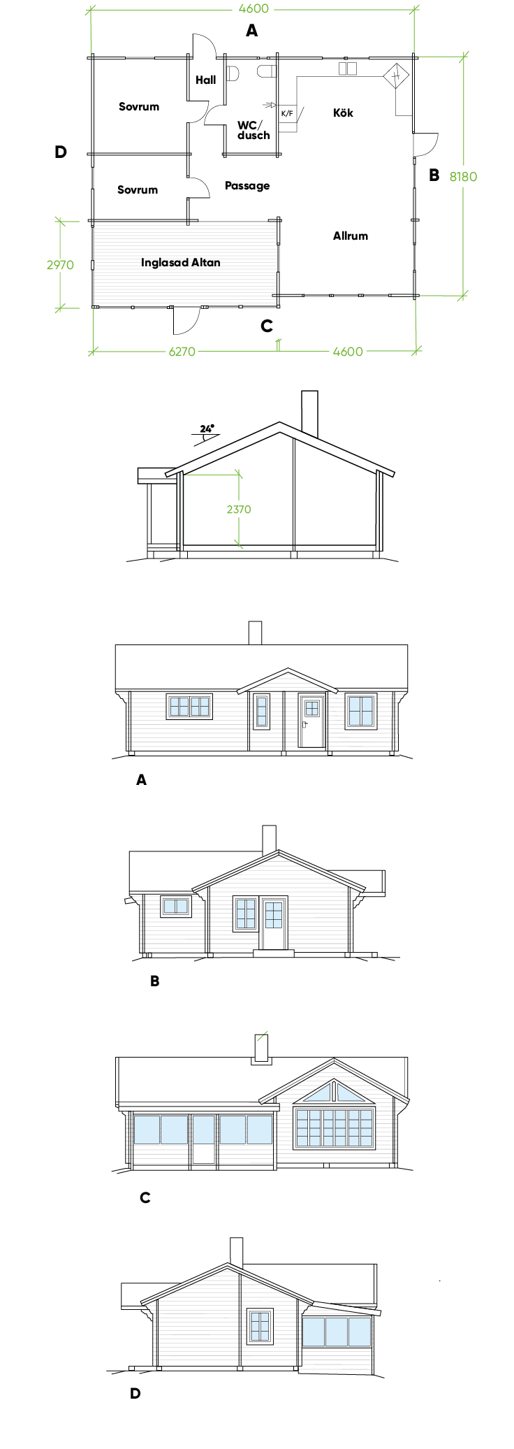Planritning Bygg och trä - Renbergsvattnet