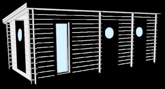 Fritidshus  Bygg och Trä Bastuviken
