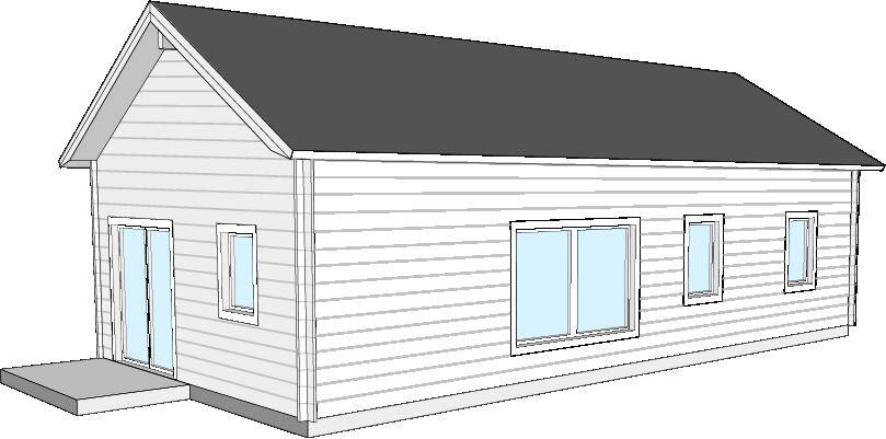 Fritidshus  Bygg och Trä  Lappvattnet