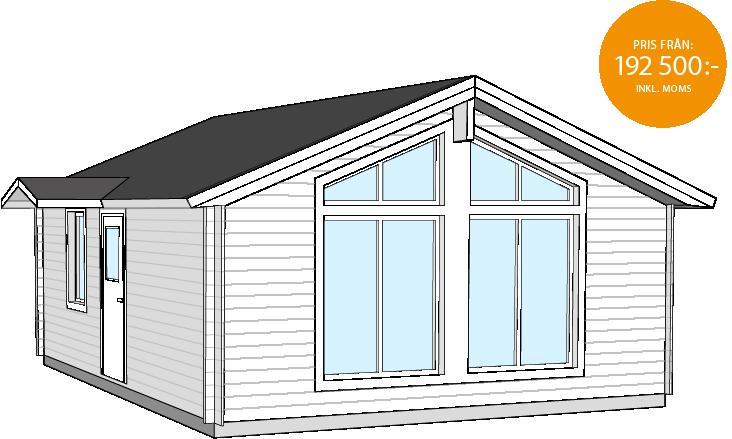 Fritidshus Bygg och Trä Ljusvattnet
