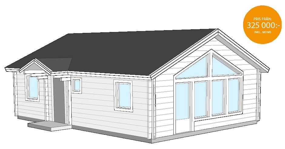 Matsdal fritidshus 63,5kvm Bygg & trä
