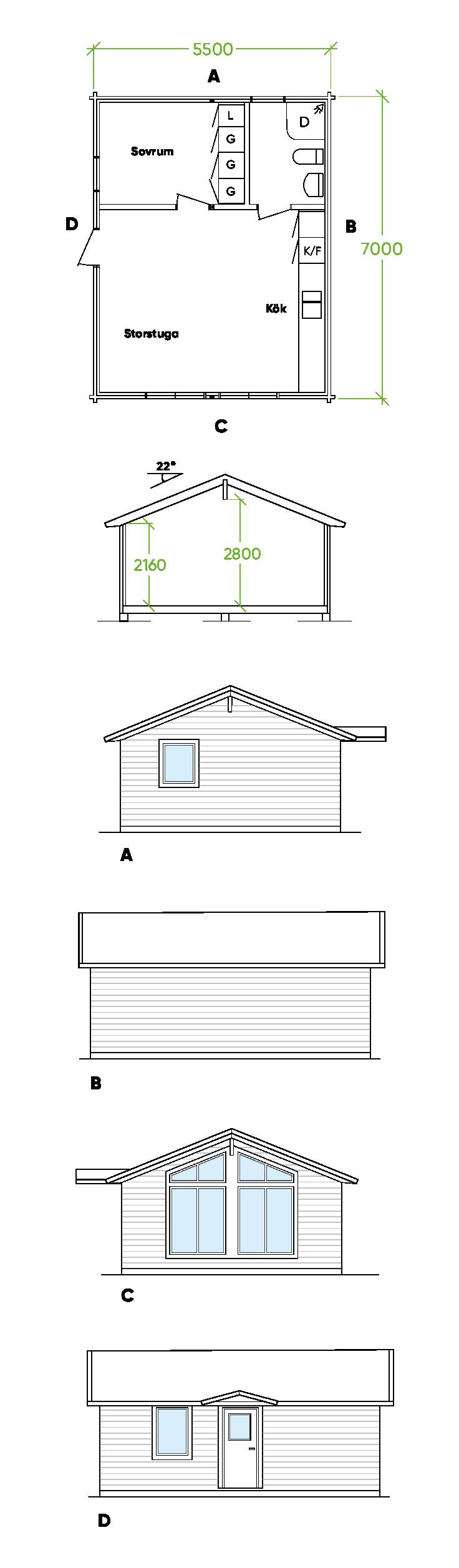 PLANRITNING ljusvattnet Bygg och Trä